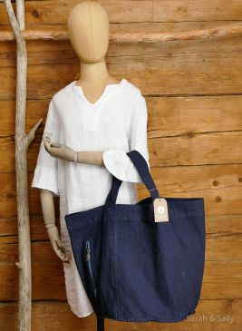 Canvas Tasche in Blue